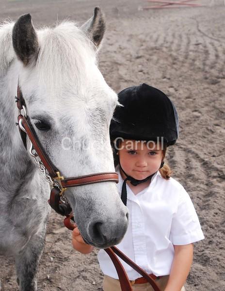 Grange Fair Horse Show Tuesday 8-28-07