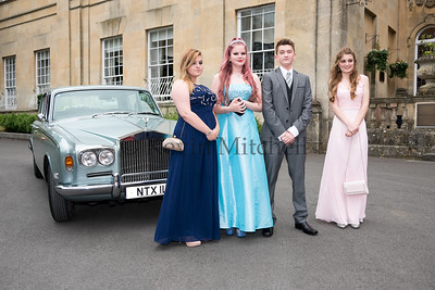 Grange School Prom Bailbrook House Hotel Bath 30th June 2016