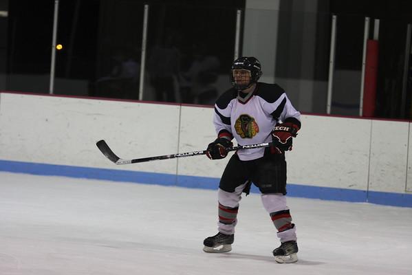 Granite City Warriors Ice Hockey versus Althoff Catholic High School Crusaders (JV) 2/3/09