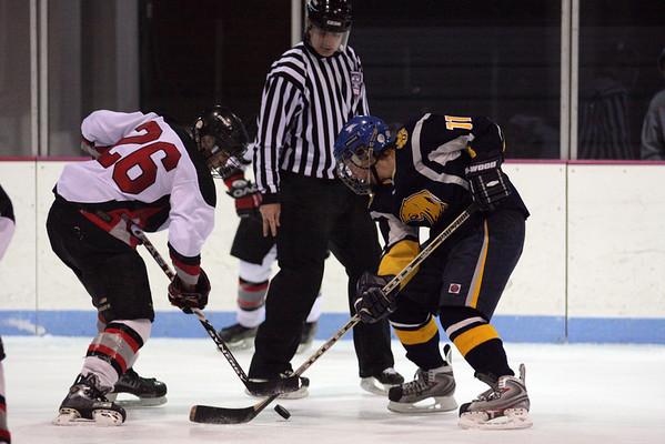 Granite City Warriors Ice Hockey versus O'Fallon Panthers (JV) 11/25/08