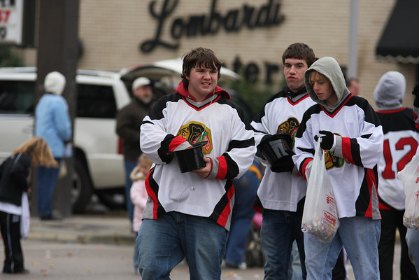 Granite City Warriors Ice Hockey 2008 Santa Parade