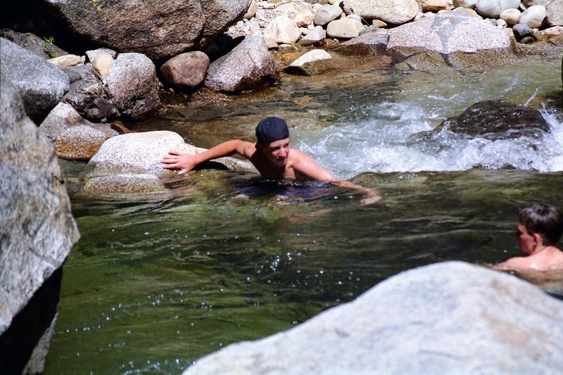 Jason & Brian in the Creek