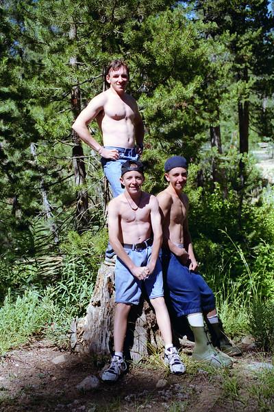 David, Mark, & Jason on the Stump