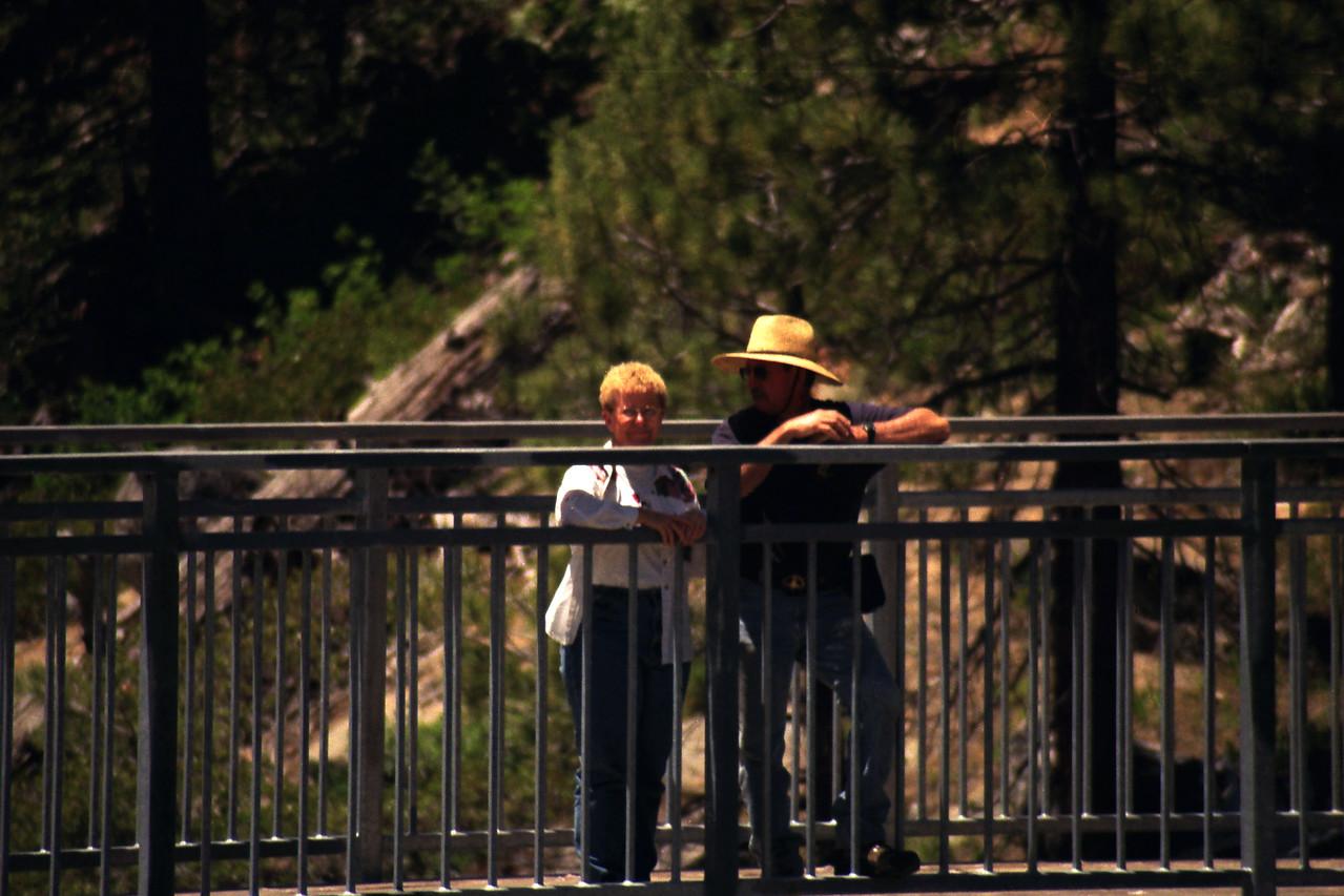 Mom & Dad on the Bridge