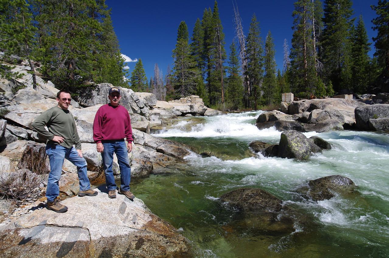 Dad & David @ Granite Creek 6-2010