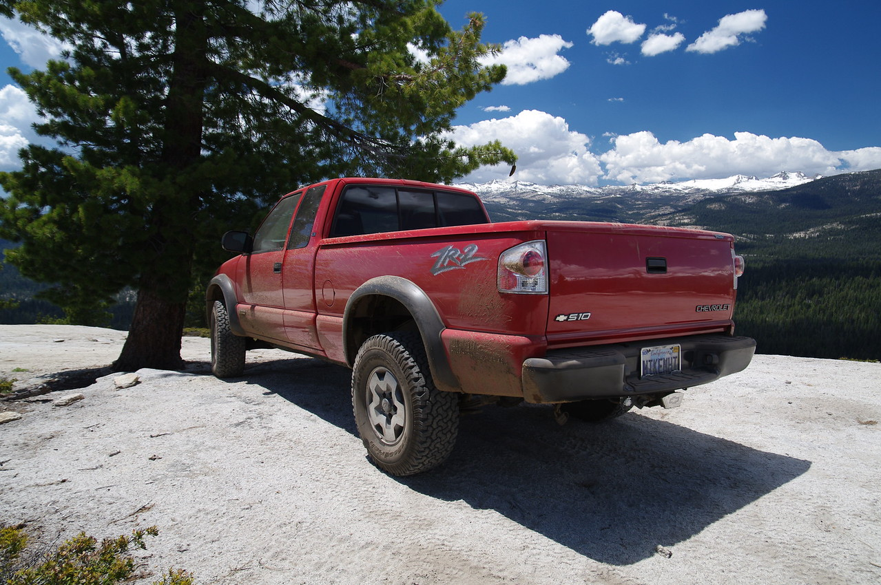 David's ZR2 atop of Cattle Mtn (2)