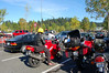 Started the ride out from target in Redmond.  Nikita is front and center here, Adam behind him