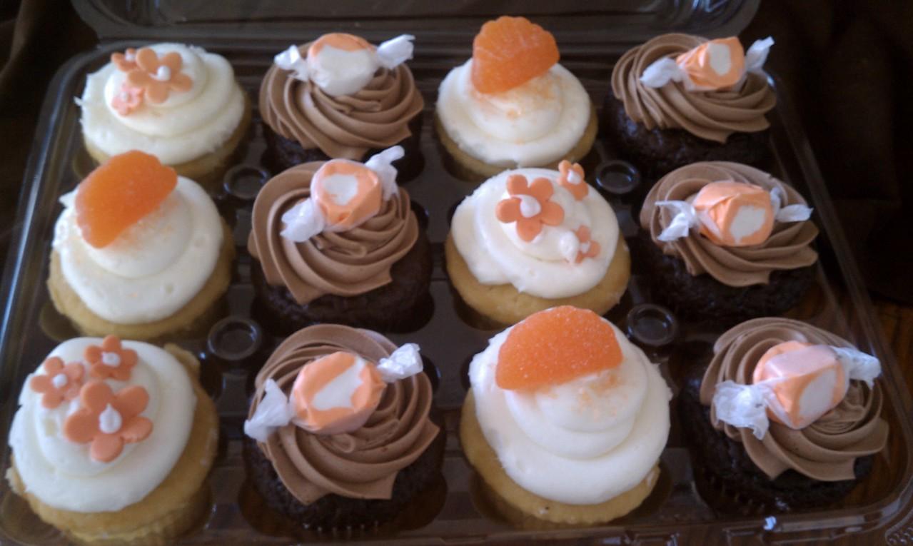 Sweet Orange Cupcakes