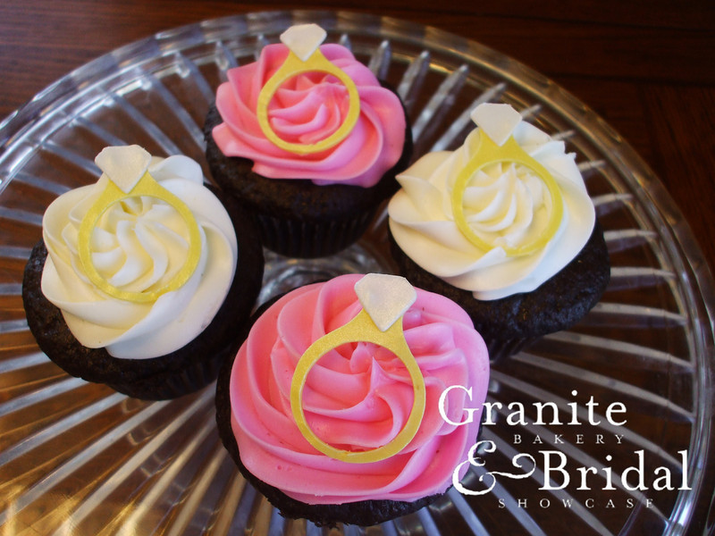 Wedding Ring Cupcakes