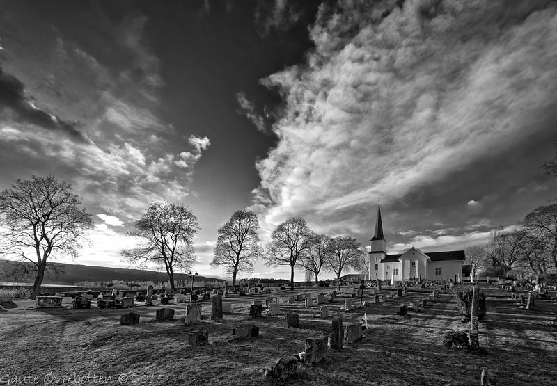 Nes kirke (Church at Nes), Brandbu