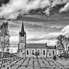Tidleg vår ved Tingelstad kirke.<br /> Tingelstad a sunny day in March.