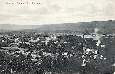 Birds-Eye View of Granville, Mass.