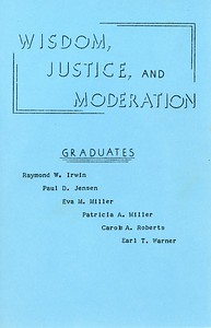Granville Schools Graduation, 1957, page 3