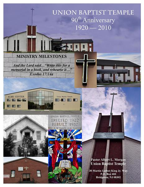 Union Baptist Bulletin Covers