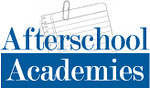Logo for an organization that develops afterschool enrichment programs.