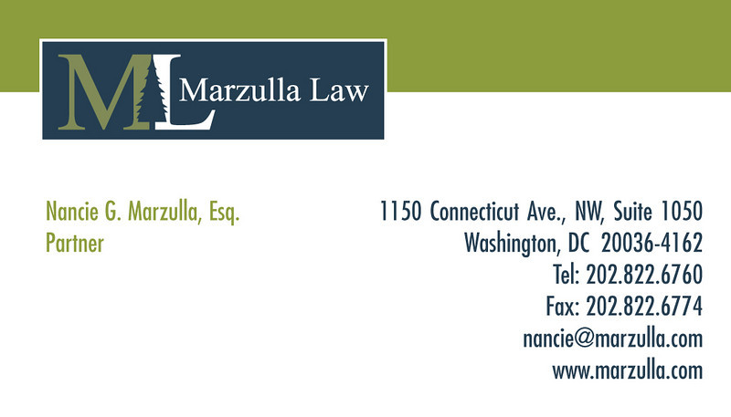 Business card design as part of an entire stationery design package for a law firm.