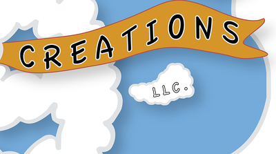 Creations Banner Detail.  Showing off the LLC.  This is good to have in the logo.