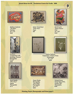 This was Touchstone's 2008 Jazzed About Art Gala Online Catalog that I created and photographed all of the artwork that was featured in the show.