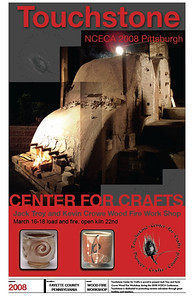 These were posters designed to exhibit at the 2008 NCECA conference for ceramic artists to get people interested in the classes being held at the time.  I took all the pictures and created all the artwork.