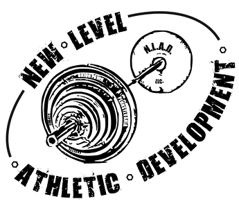 New Level Athletic Development 1 color T-shirt Logo