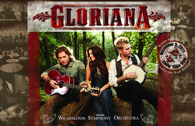 Official Gloriana Poster  Horizontal Advertisement CMYK Color Mode 17w x 11h 21.4 MB 5100x3300 300 DPI for Print
