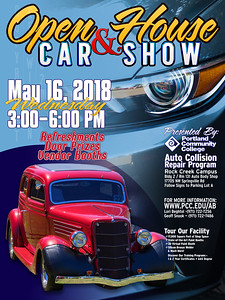 Event Poster For Car Show