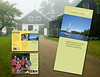 Tri-fold brochure designed for Medomak Family camp stressing fun family atmosphere in a beautiful natural setting.