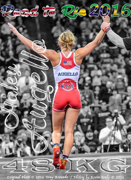 Haley Augello Olympian Poster