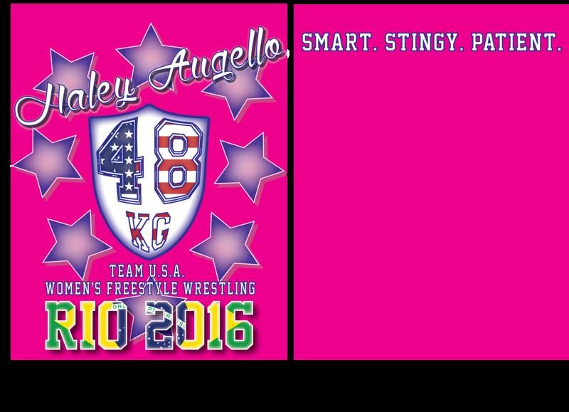 Haley Augello Rio Fundraiser T-Shirt