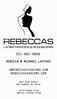 Business Card Back (portrait) black n white reversed