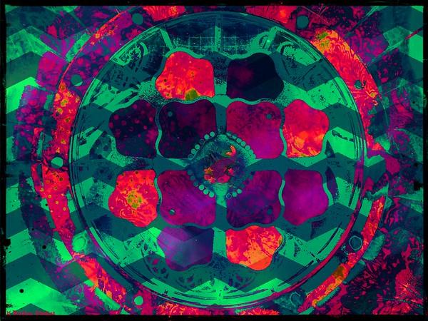 Koi in Hyperreal Lotus