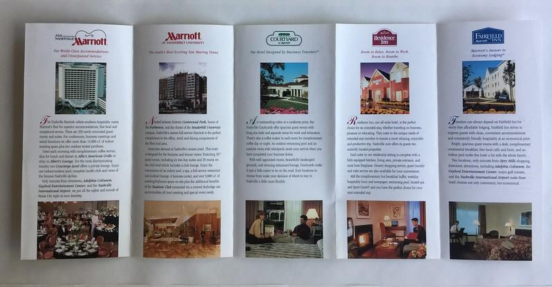 Nashville Marriott Multibrand Brochure Interior