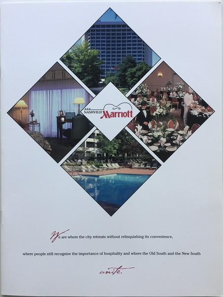 Nashville Airport Marriott Brochure Cover