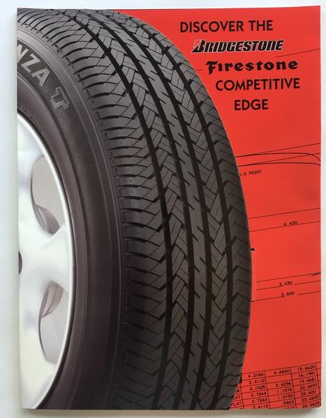 Bridgestone Presentation Folder Cover