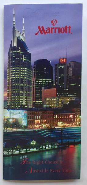 Nashville Marriott Multibrand Brochure Cover