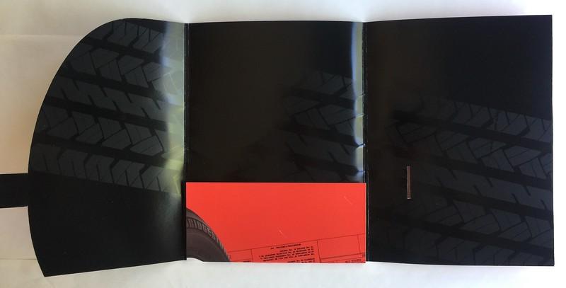 Bridgestone Presentation Folder Interior