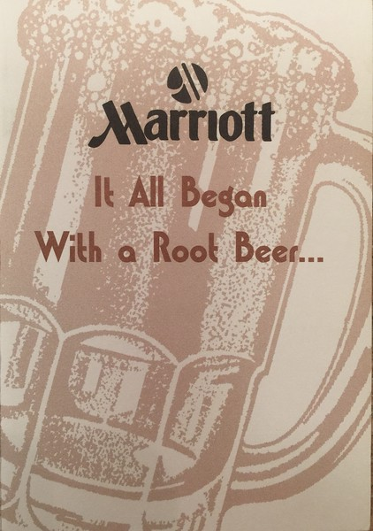 """""""It all began with a Root Beer"""" Card"""