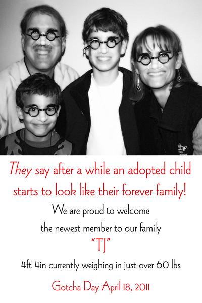 Adoption Announcement