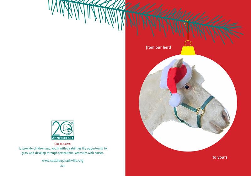 Saddle Up! Christmas Card
