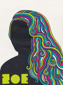 Milton Glaser (Handmade with paper, colored pencils and marker)