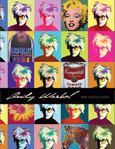 Andy Warhol Cover for a Written Paper (Photoshop)