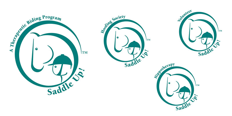 Saddle Up! Logo and Family