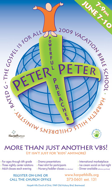 Peter VBS Logo on Poster
