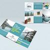 """ Iconic Mugs"" coffee mug brochure design."