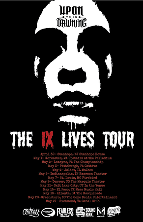 Poster Design: The IX Lives Tour