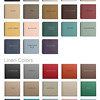 Leather & Linen Album Color Swatches
