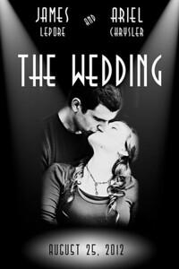 Custom Wedding Movie Poster