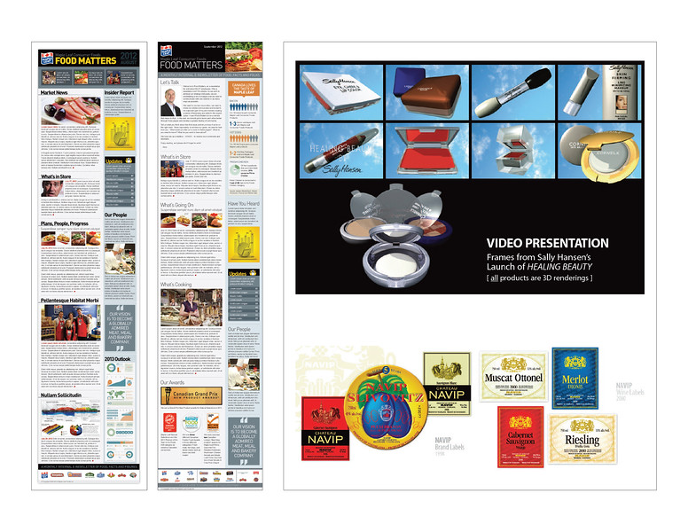 › MAPLE LEAF - Newsletter Template Design<br /> › 3D Video Presentation<br /> › Wine Label Designs
