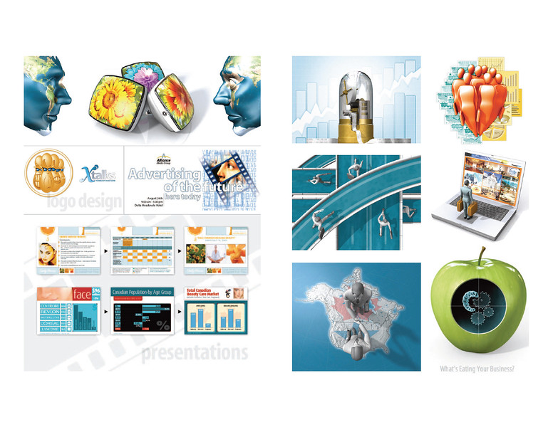 › Illustrations / Presentations