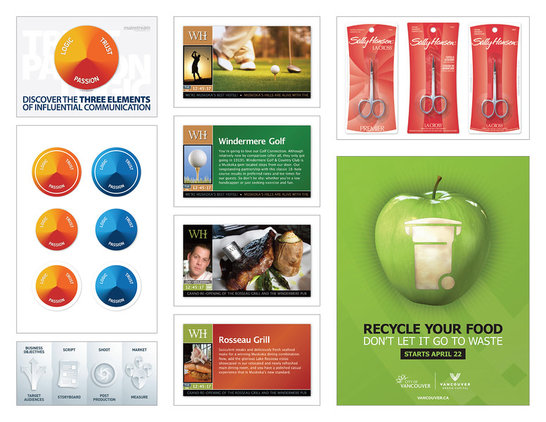 › Advantis Communications Agency - Various Designs<br /> › Windermere House - Screen Designs<br /> › Packaging Design + 3D Renderings<br /> › Poster Design + Illustration